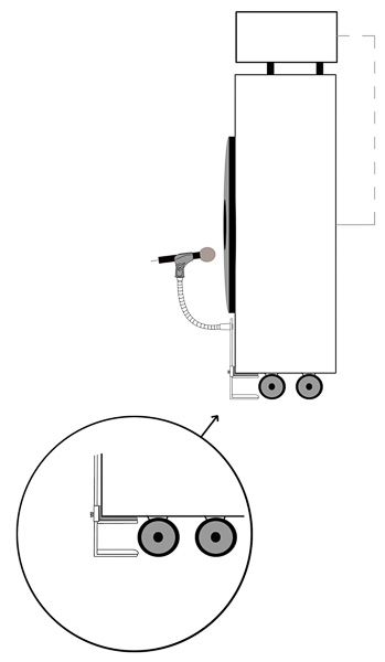 setup instructions showing cantstandya mic mount under cabinet side
